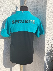 POLO INORIX SECURITE  BI COLOR AVEC FLOCAGE DOS