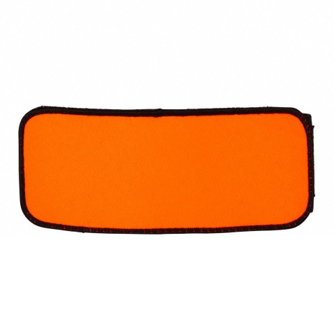 BRASSARD ORANGE NEUTRE SUR VELCRO