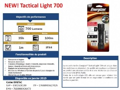 TORCHE ALUMINIUM VISION HD 1000LM RECHARGEABLE